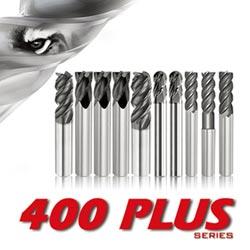 震虎400PLUS銑刀 展現完美切削