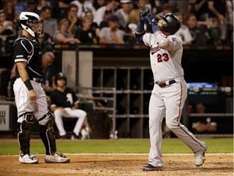 MLB》克魯茲首次3響炮 雙城破大聯盟紀錄