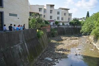 防暴雨釀災 林明溱勘查排水改善工程