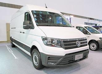 福斯商旅鎖定3.5噸級廂式貨車市場 新世代Crafter Van 搶先曝光