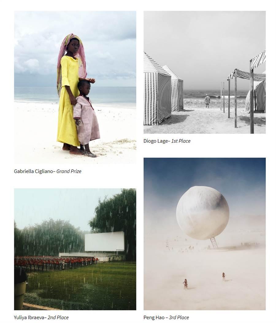 由左至右、由上至下分别是 IPPAWARDS 2019 年度大奖作品 Big Sister、年度摄影师第一名、第二名、第三名的作品。