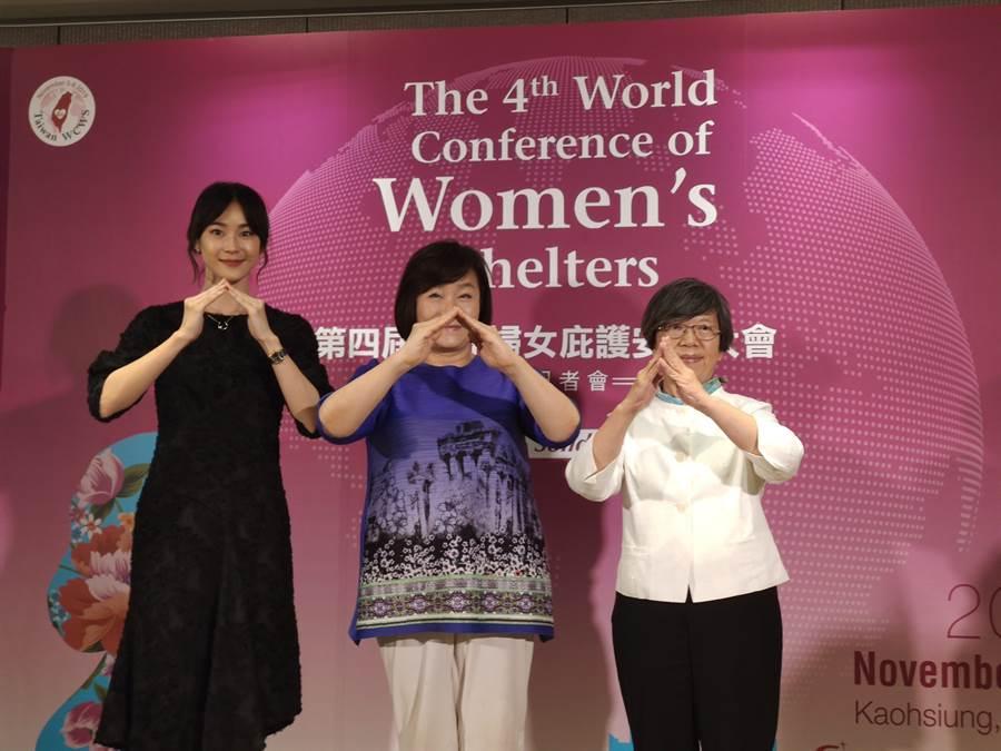 勵馨基金會取得第4屆世界婦女庇護安置大會舉辦權,邀請120個國家、1500位婦女組織領袖來到台灣。(林良齊攝)