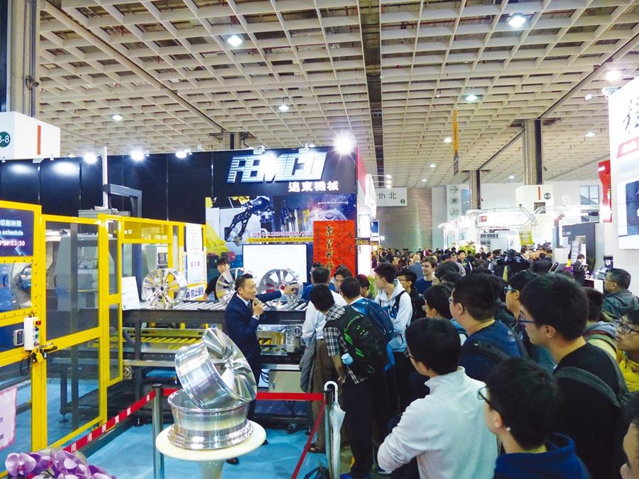 台灣工具機業者勤於參加國際展拓展訂單,2018年締造全球第五大出口國佳績。圖/莊富安