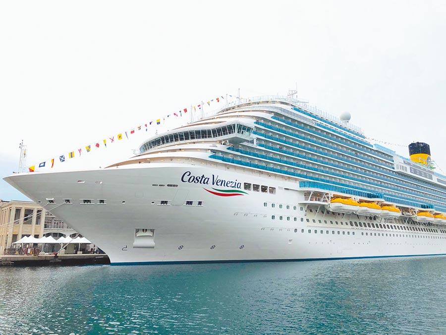 「威尼斯號」明年將再度來台,於清明連假展開獨具特色的日韓之旅。(雄獅旅遊提供)