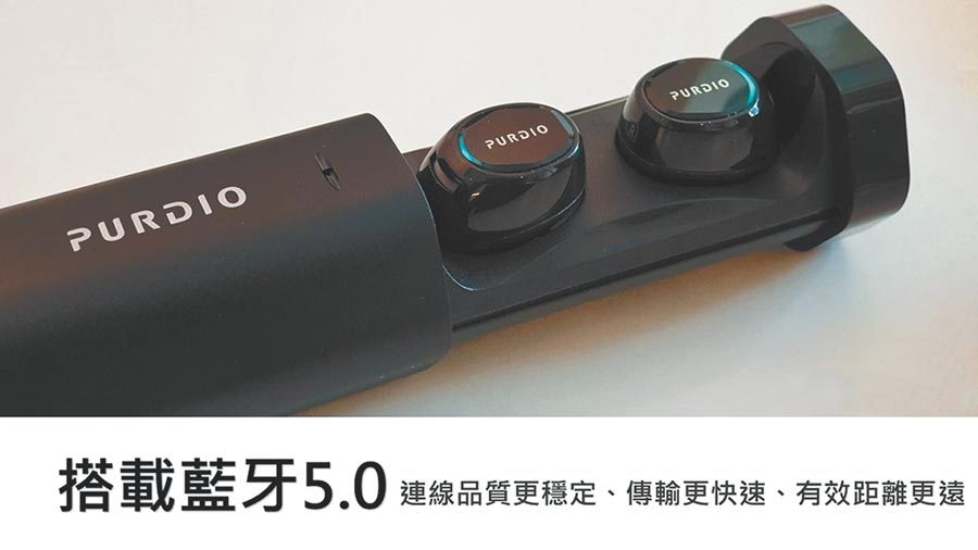 PChome24h購物祭出「8月心禮節」活動,獨家推出PURDIO HEX-T2真無線藍牙耳機,原價2390元,8月1日前特價1490元。(翻攝PChome24h購物)