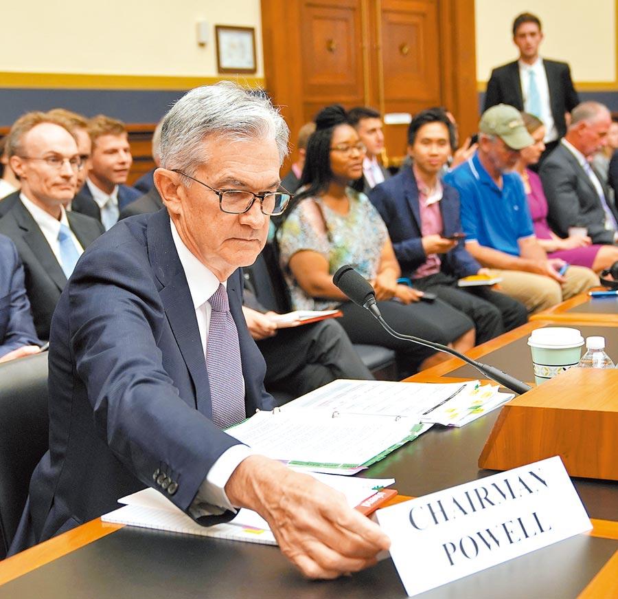 全球關注美國何時降息。圖為美國聯準會主席鮑威爾。(新華社資料照片)