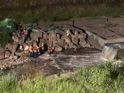 溪釣未歸 49歲男旱溪溺斃
