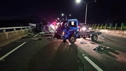 台74線小貨車追撞 3人送醫無大礙