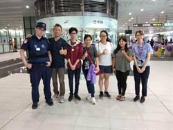 印尼家族探親失散 桃捷警流利英文幫大忙