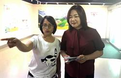 曾獲數位出版金鼎獎 卓惠美在埔里藝廊舉行繪畫創作展