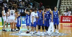 瓊斯盃女籃 中華藍不敵紐西蘭賣高