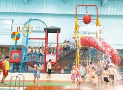 金牌水質認證標章 游泳有保障