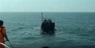 陸籍漁船又越界作業 再遭馬祖海巡隊查扣