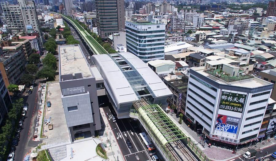 台中捷運綠線預計於明年底正式通車營運,沿途有18座車站;地方爭取車站命名應符合地方特色與發展脈絡。(陳世宗翻攝)