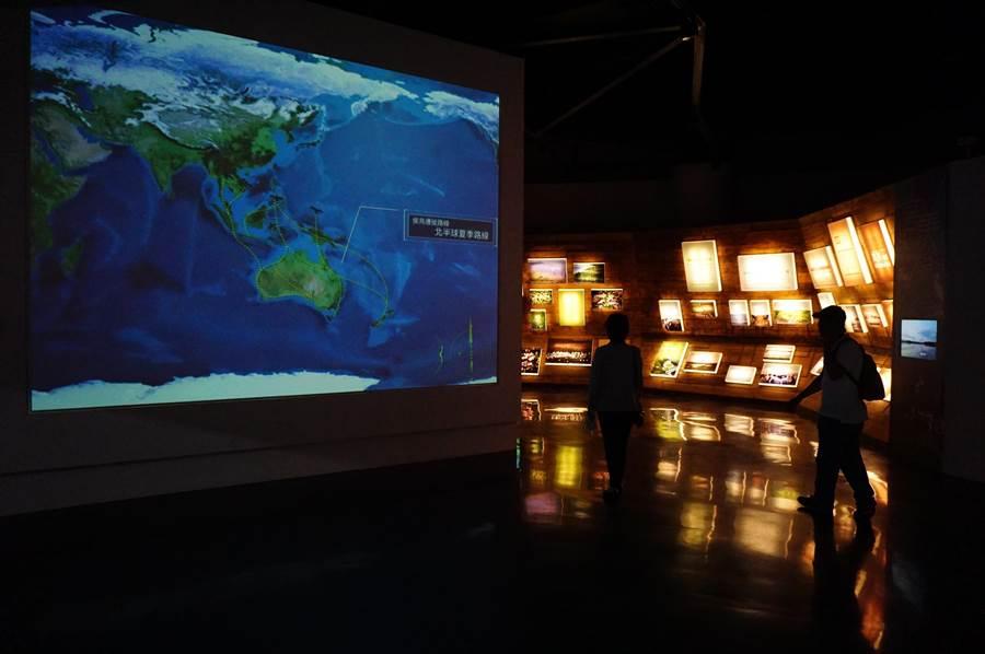 生態體驗館透過多元的方式傳達濕地知識,期待能遊客心中種下「濕地永續利用,需要你我守護」的種子。(王文吉攝)