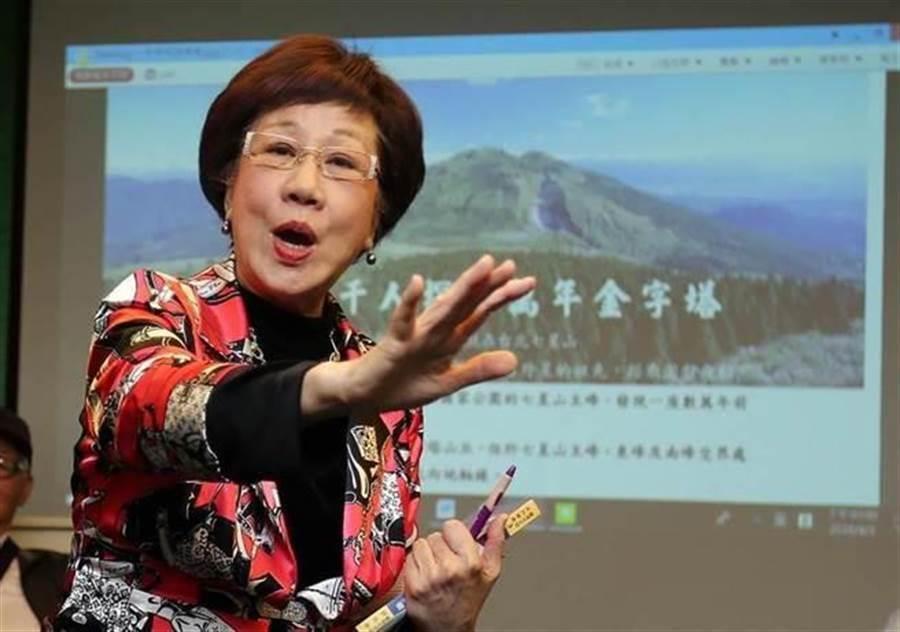 前副總統呂秀蓮。(資料照片,趙雙傑攝)
