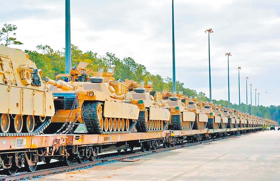 陸學者認為美國售台軍備價貴又無作用。圖為美國售台的M1A2戰車。(取自美國陸軍官網)