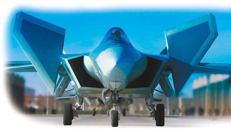 解放軍新一代隱身戰鬥機殲-20。(新華社資料照片)