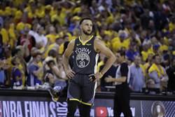 NBA》柯瑞坦承:總冠軍賽右腿嚴重拉傷