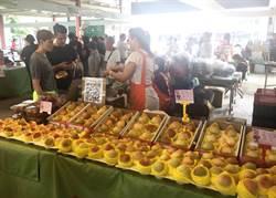 葡萄 高接梨 水蜜桃正當季 台中農業局北上行銷