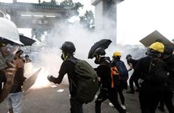 香港大批集會人士  包圍灣仔警察總部
