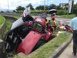 國3草屯兩車對撞  7傷陸續出院