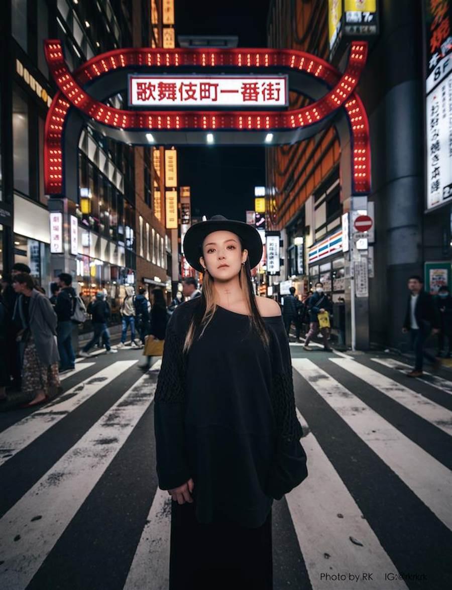 歐陽靖在東京的生活實錄由RK掌鏡。大塊文化提供