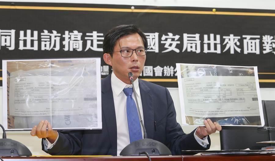 議員王浩宇批,黃國昌為了作秀,替犯罪集團做了斷點,該串證的都串證了。(圖/本報資料照)