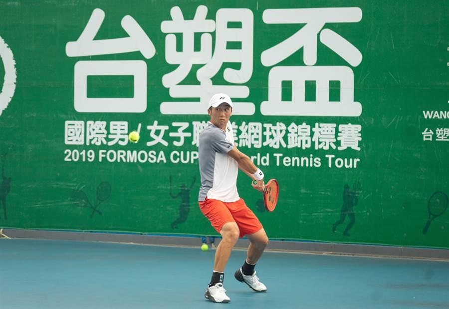 日本好手德田廉大收下今年台塑盃男網賽第二站單打冠軍。(海碩整合行銷提供)