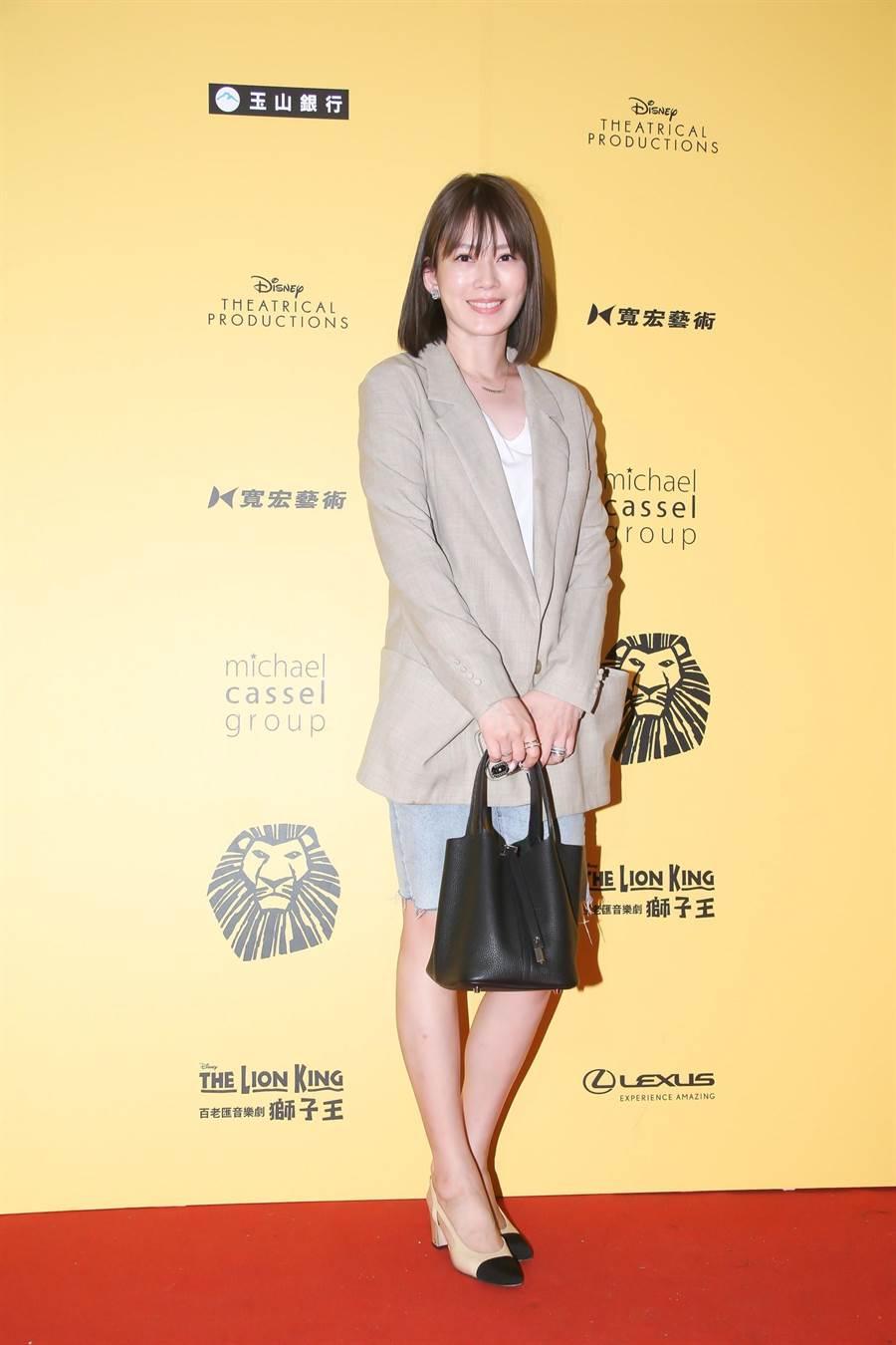 Melody受訪表示特別期待《獅子王》劇情。(羅永銘攝)