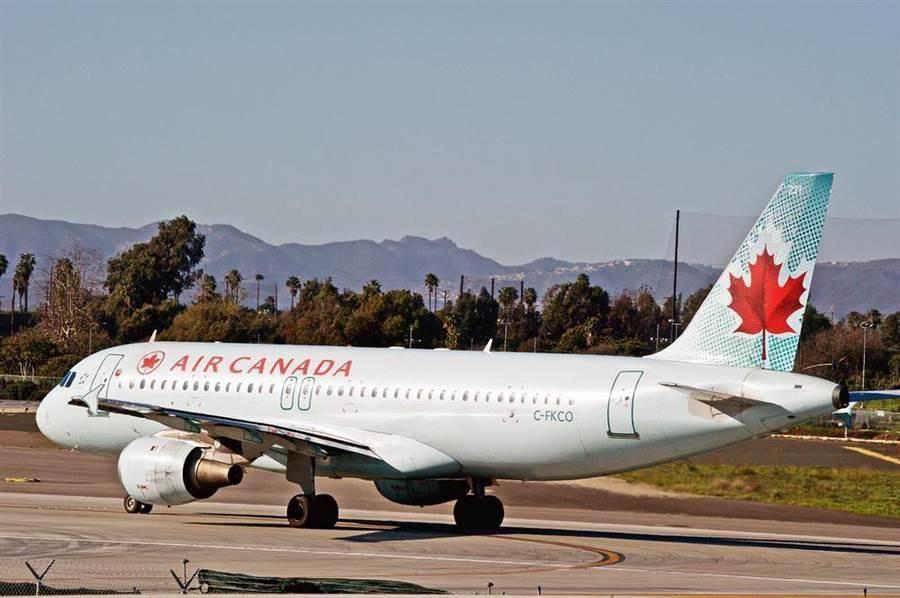 加拿大航空客機,此為示意圖。(達志影像/shutterstock)