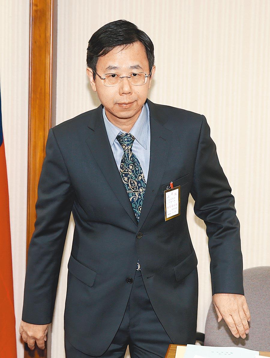 調查局長呂文忠。(本報資料照片)