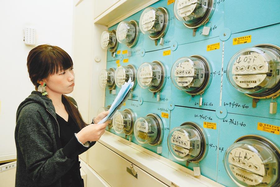 天然氣燃料價格居高不下,10月電價估計需漲5%到6%才夠。(本報資料照片)