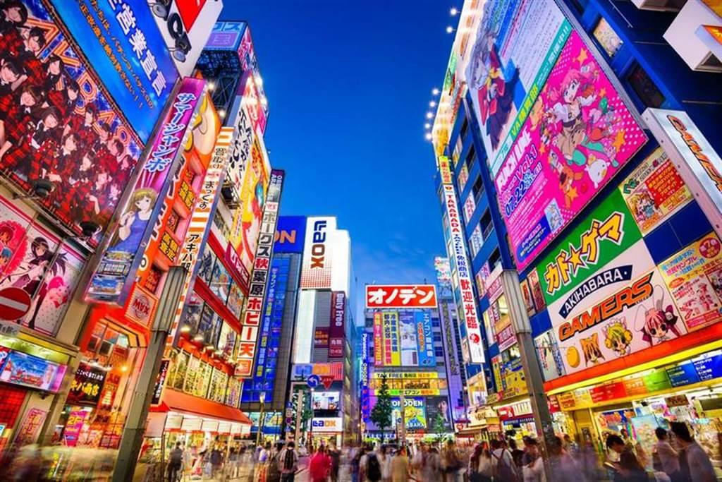 日本東京街頭。(圖/shutterstock)