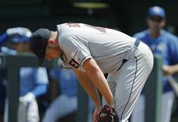 MLB》被打太慘 印隊投手場內崩潰