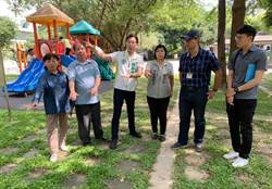 市議員爭取經費 汰換公園塑膠罐頭遊具