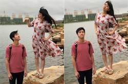 江宏傑出賣老婆 產後3個月真實身材被曝光「福原愛怒瞪」
