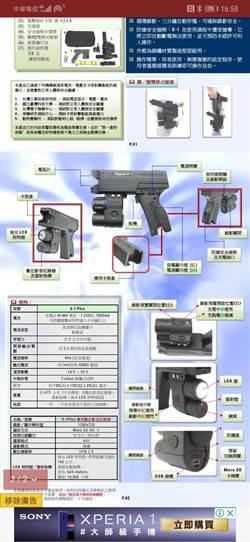鐵警局獲醫美集團捐贈電擊槍