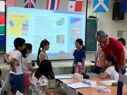 僑孝國小暑期英語營隊登場  外師創意教學提升學習興趣