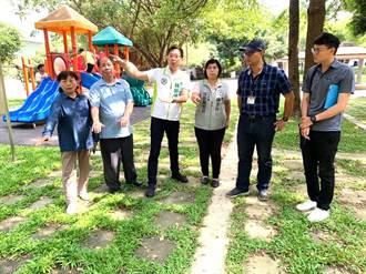 中市議員爭取汰換公園塑膠罐頭遊具 市府編經費改善
