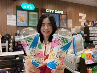 限量60萬杯!小七獨家開賣「GODIVA經典冰可可」