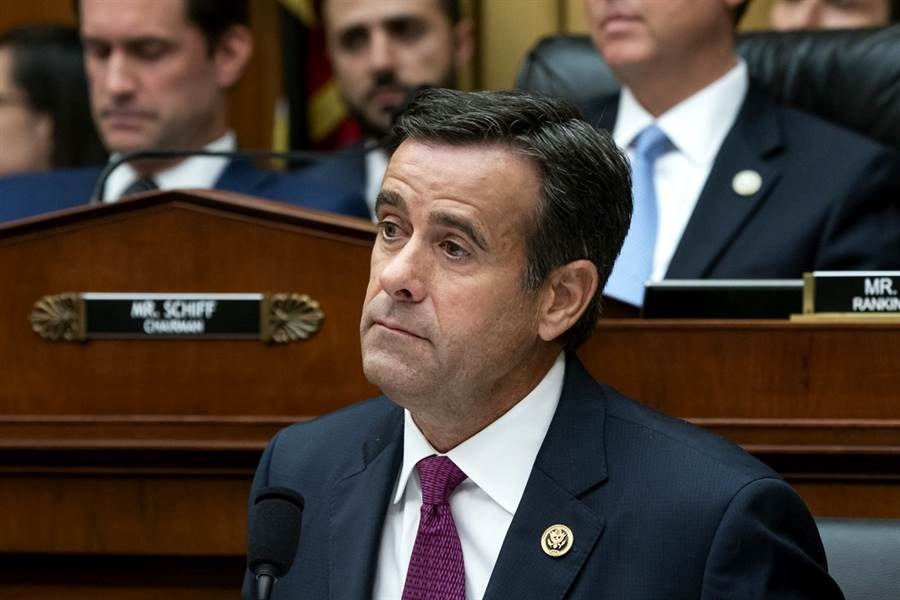 德州眾議員雷克里夫將獲川普提名擔任美國國家情報總監。(圖/美聯社)