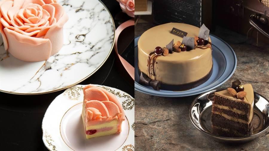BAC推出七夕和父親節蛋糕。(圖/品牌提供)