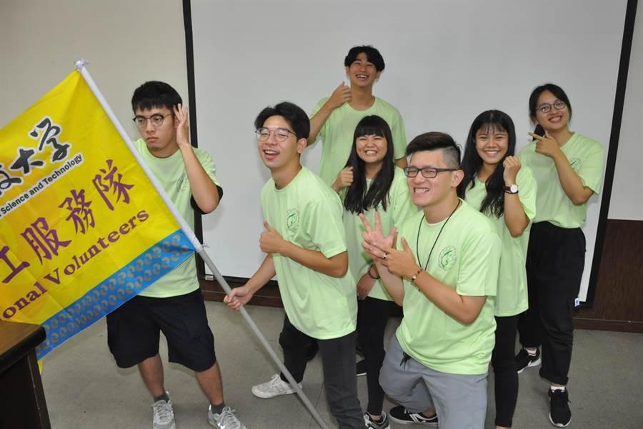 中州國際志工服務隊已連續十年出隊,有助於台灣與國際的交流合作。(謝瓊雲攝)
