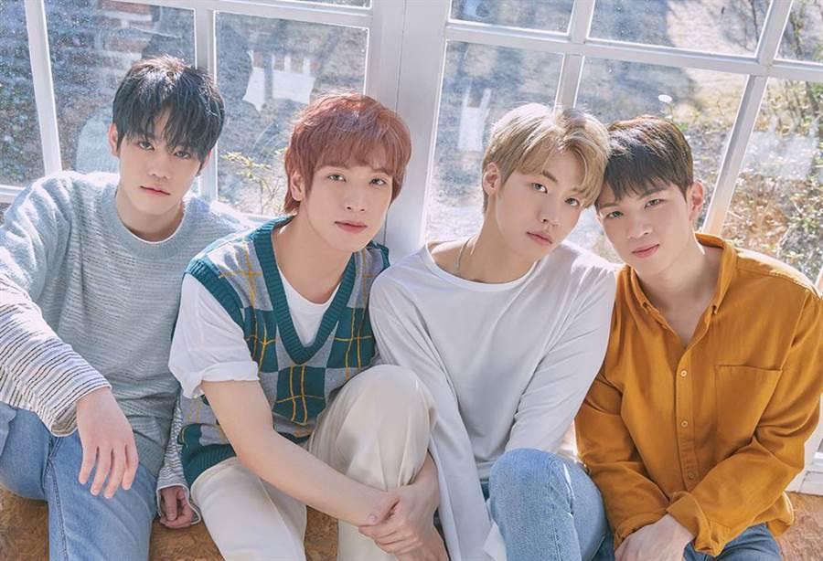 韓國流行搖滾樂團N.Flying即將在中秋節再度來台會粉絲。(圖/亞士傳媒提供)