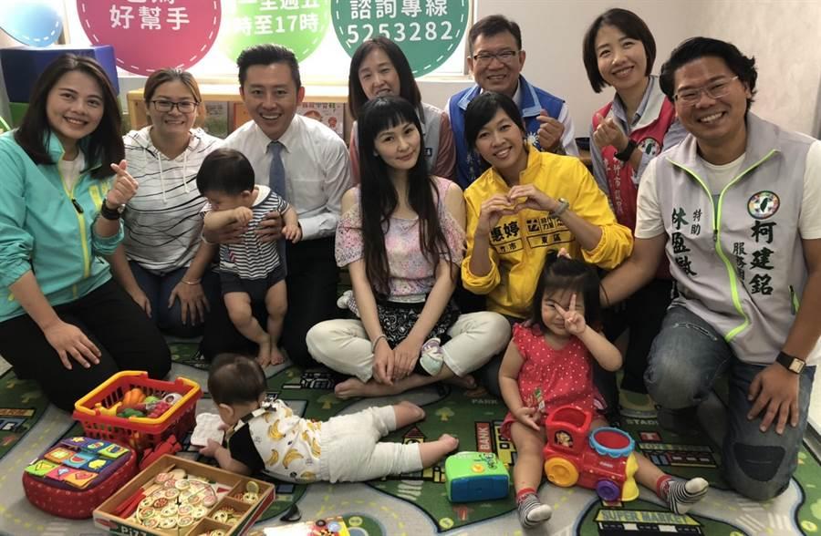 新竹市政府將自8月1日起實施2至4歲育兒津貼發放,補助對象為年齡滿2歲至4歲幼兒,每月補助2500元,計有約1萬6000個家庭受惠。(陳育賢攝)