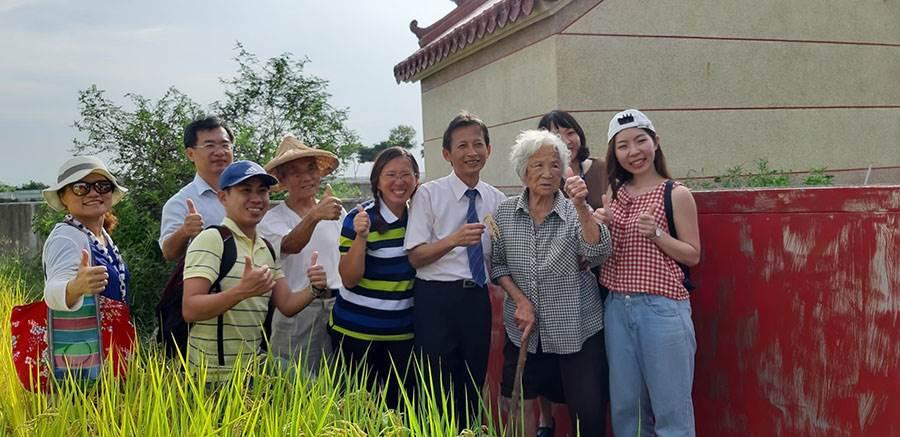經典小鎮影片後壁篇-演員大合照。(圖取台南旅遊網)