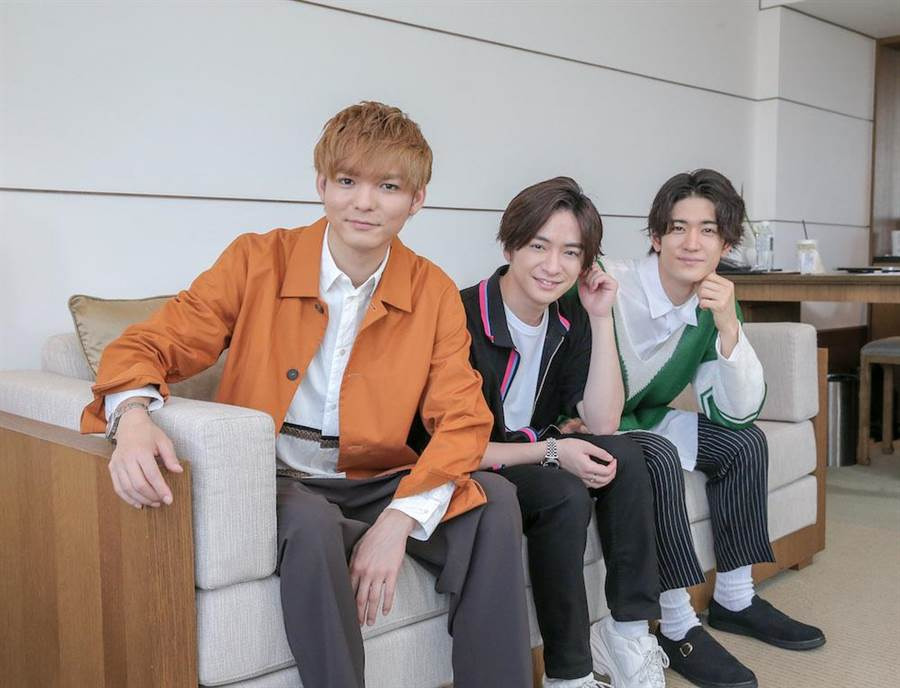 3人都很期待再度與台灣粉絲相會。(盧禕祺攝)