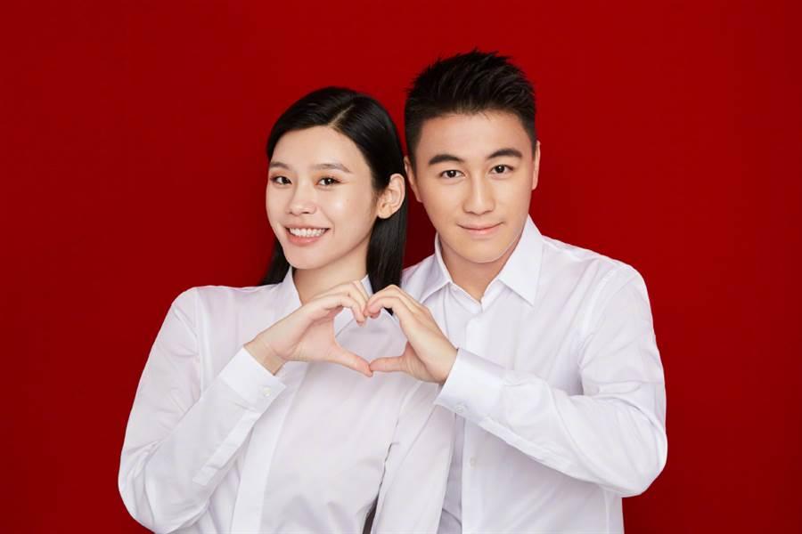 奚夢瑤、何猷君本月初登記結婚。(圖/翻攝自微博)
