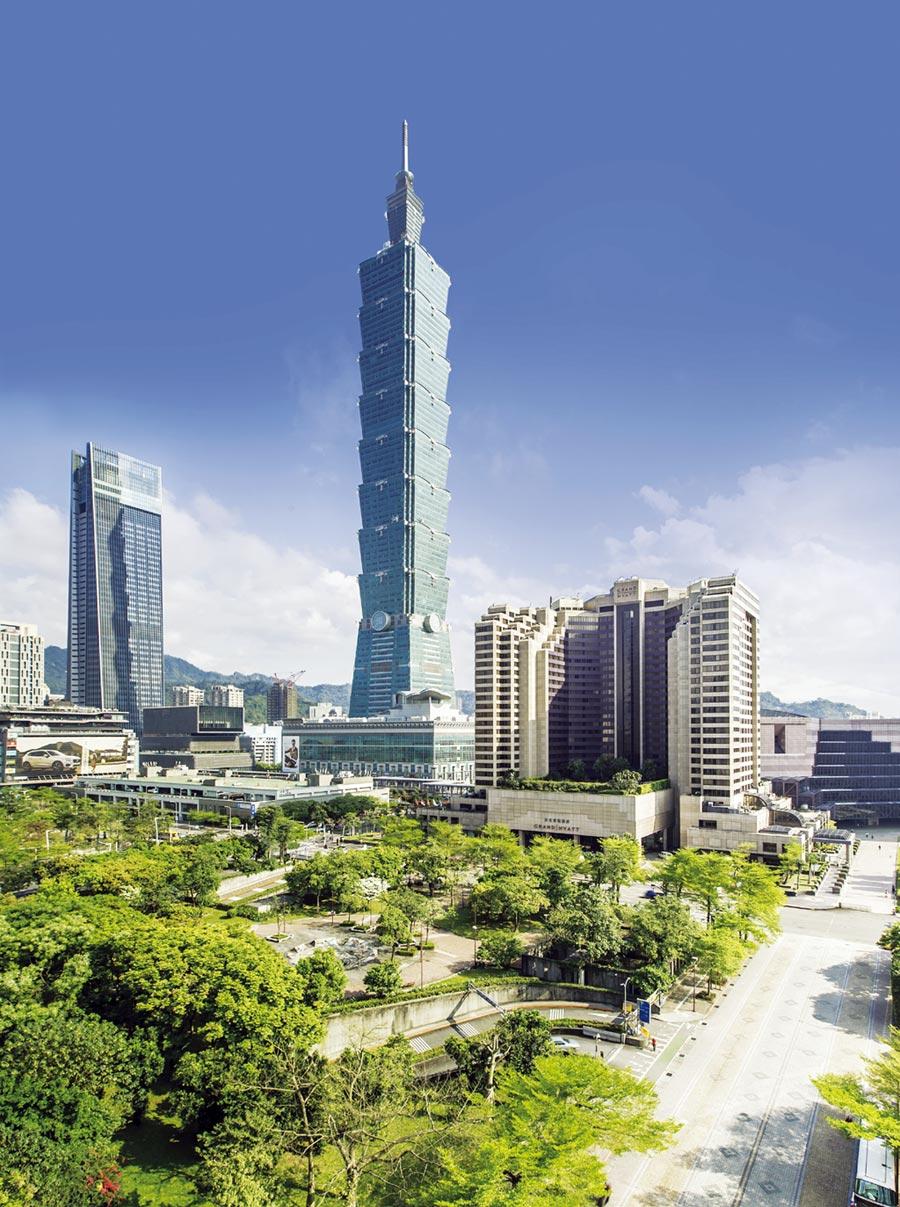 台北君悅酒店是全台量體最大國際觀光飯店。圖/台北君悅酒店